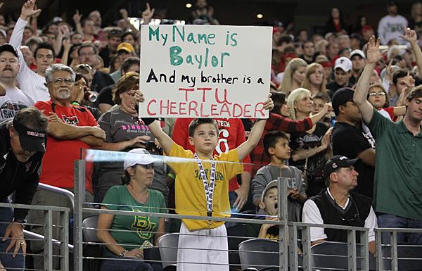 Baylor Bears vs. Texas Tech Red Raiders :: Matthew Visinsky/Icon SMI