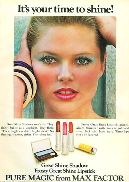 Christie for MaxFactor, 1975 :: Proctor & Gamble