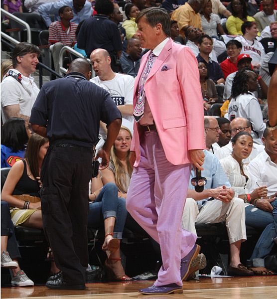 Craig Sager :: Scott Cunningham/NBAE via Getty Images