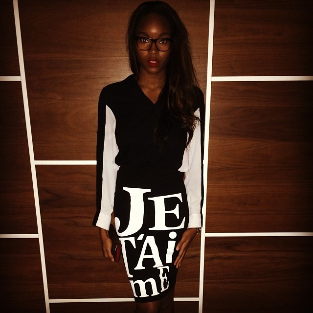 @damarislewis: Wednesday. Je T'aime.