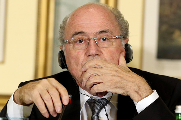 FIFA OFFICIALS: Given his history of tone-deaf verbal gaffes and machiavellian moves, FIFA president Sepp Blatter should really receive a lifetime Turkey award. But we award him in 2013 for his sexism (said Blatter on three women being named to FIFA's Exe