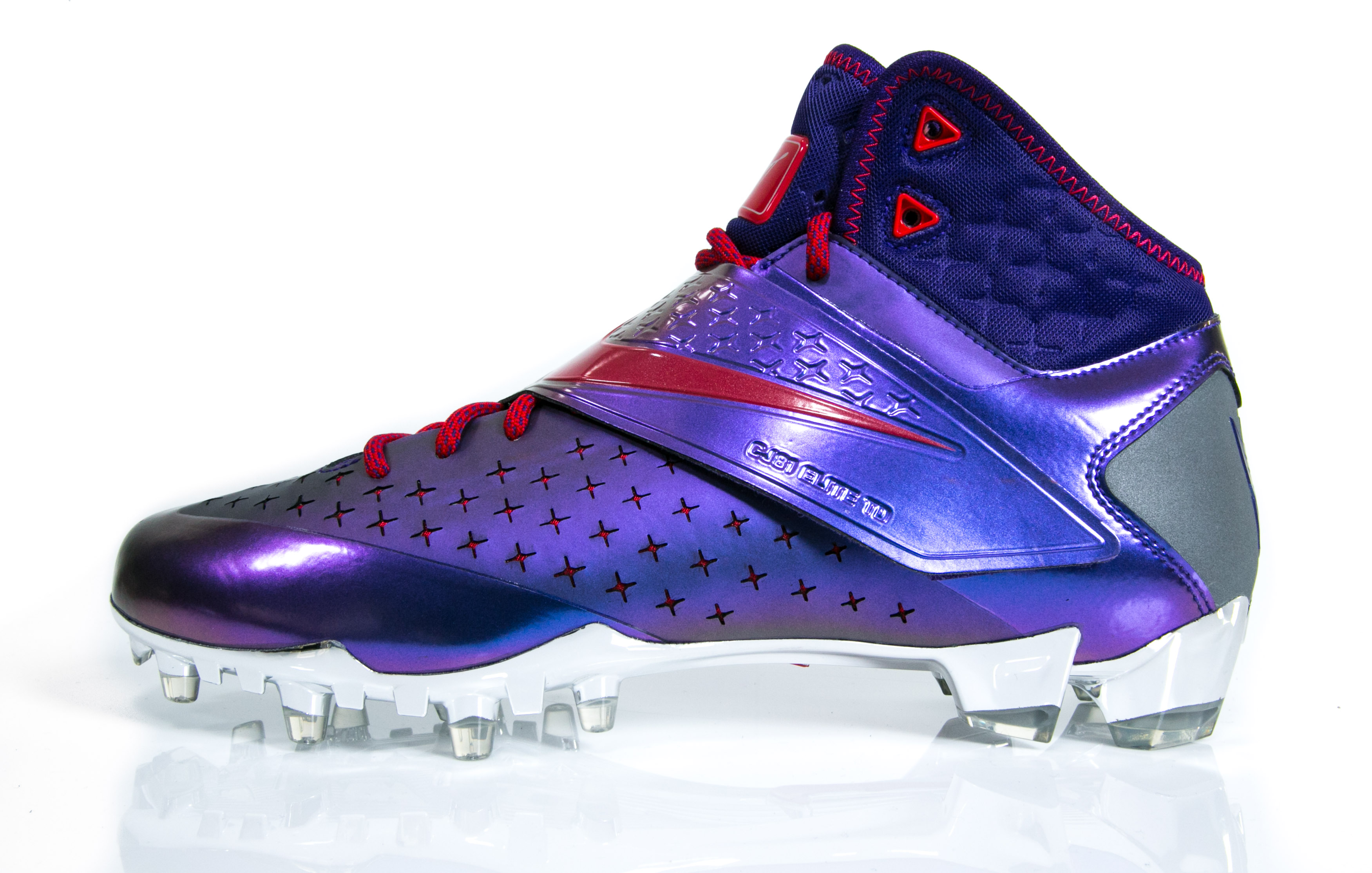 The special-edition Johnson cleat