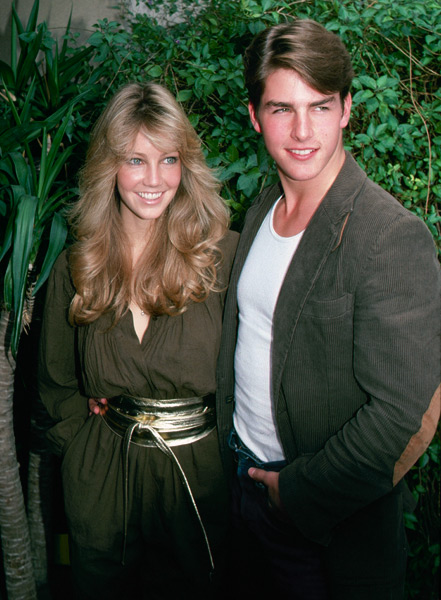 Heather Locklear and Tom Cruise :: Getty Images
