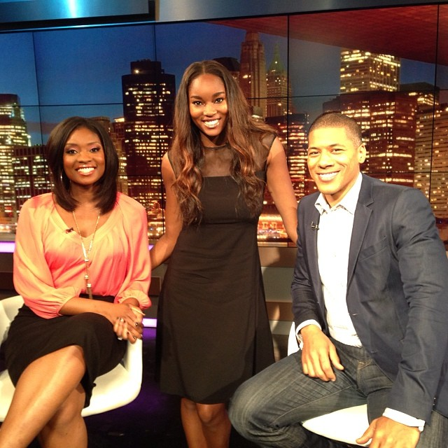 @damarislewis: Just finished an awesome segment on Arise TV! Thanks for having me :)