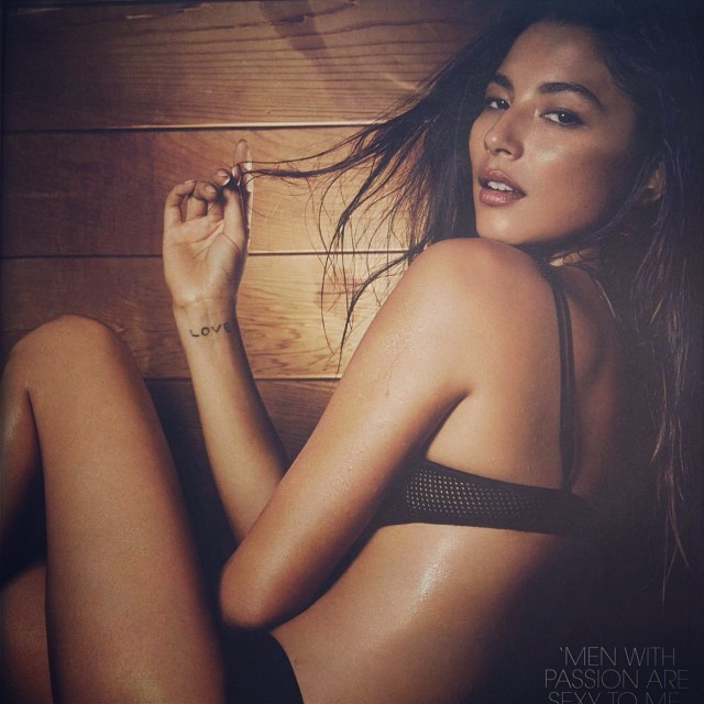 @iamjessicagomes: Thank you @whomagazine for having me apart of the #WHOsexiest people list. Shot by @simonlekias loved spending the afternoon in a Sauna. @davidjonesstore