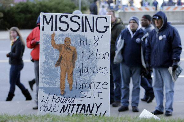 Penn State Nittany Lions vs. Nebraska Cornhuskers :: AP Photo/Gene J. Puskar