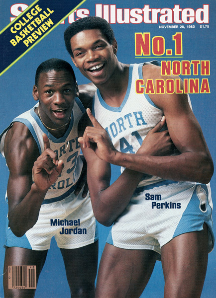 4. Michael Jordan and Sam Perkins (1983) :: Lane Stewart/SI