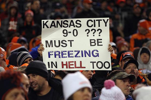 Denver Broncos vs. Kansas City Chiefs :: Doug Pensinger/Getty Images