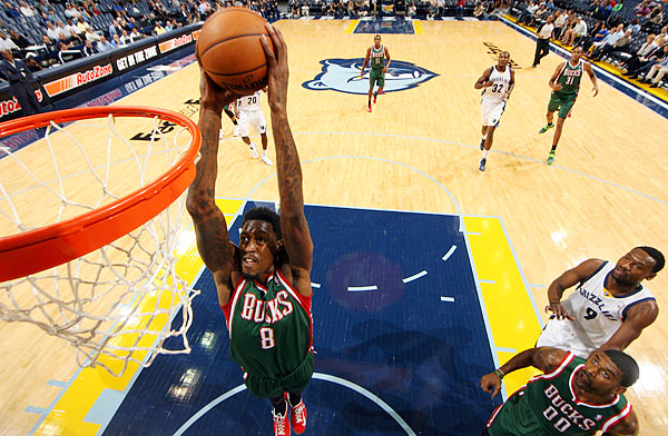 LARRY SANDERS: After signing a four-year, $44 million contract extension with the Bucks this summer, the 6-foot-11 center suffered a torn ligament in his right thumb while allegedly participating in a Nov. 3 bar fight at a night club in downtown Milwaukee