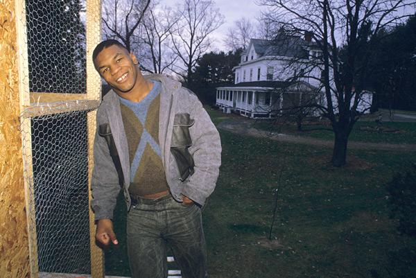 Mike Tyson :: Manny Millan/SI