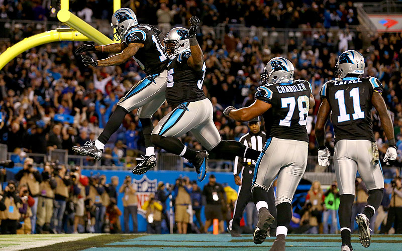 Atlanta Falcons at Carolina Panthers :: Bruce Yeung/SI
