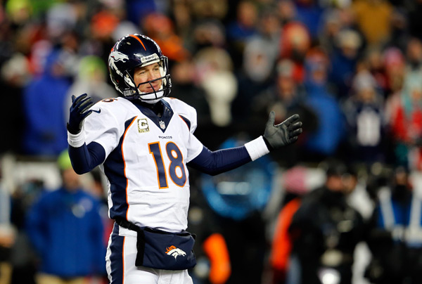 Peyton Manning :: Jim Rogash/Getty Images