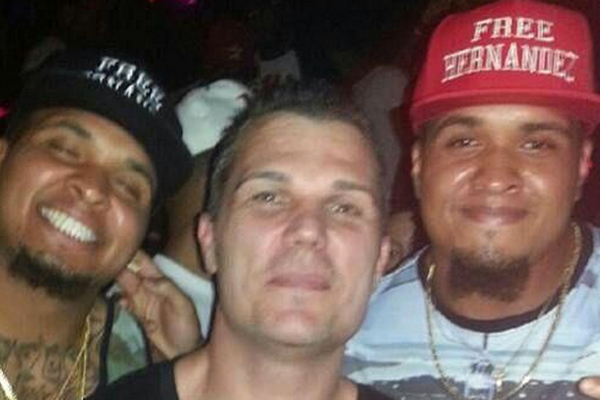 "MAURKICE AND MIKE POUNCEY: The brothers, offensive linemen for the Steelers and Dolphins, respectively, were photographed on their birthday wearing hats that read ""Free Hernandez"" in support of their Florida teammate and accused murderer Aaron Hernand"