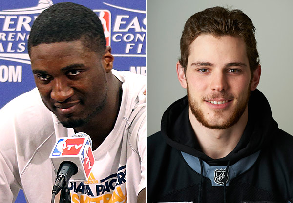 "ROY HIBBERT AND TYLER SEGUIN: ""No homo"" is a no-no. You know this."
