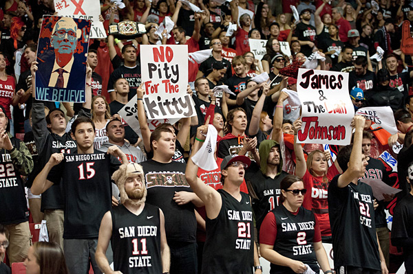 Arizona Wildcats vs. San Diego State Aztecs :: Orlando Ramirez/ Icon SMI