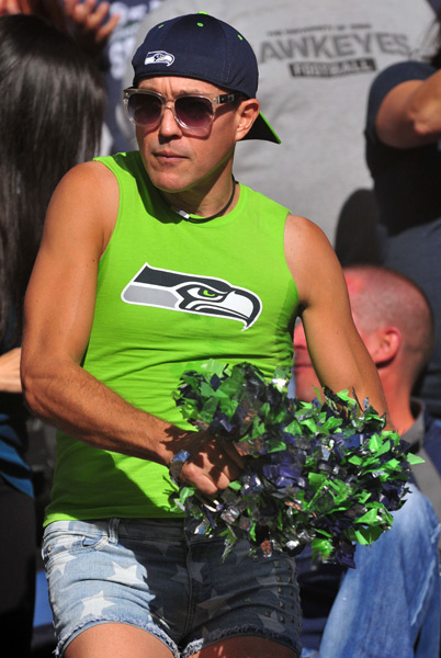 Seahawks fans :: Jim Dedmon/Icon SMI