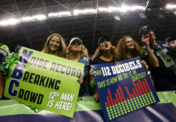Seahawks fans :: Jonathan Ferrey/Getty Images
