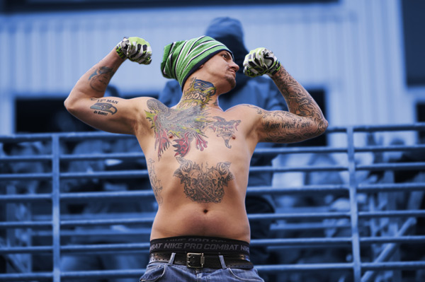 Seahawks fan :: Rod Mar/SI