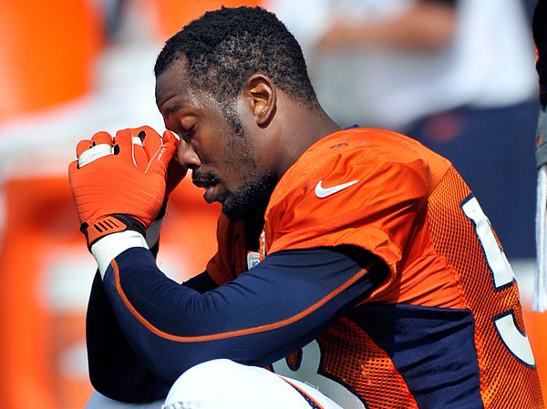 VON MILLER: The Broncos' Pro Bowl linebacker landed in a wee spot of trouble in August after he failed a drug test. Miller, a repeat offender, appealed his four-game suspension, but was found to have colluded with a star-struck urine sample collector to