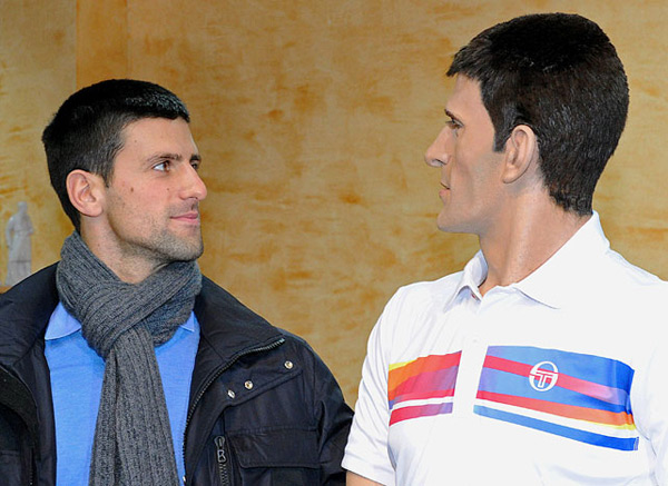 Novak Djokovic :: Sasa Djordjevic/AFP/Getty Images