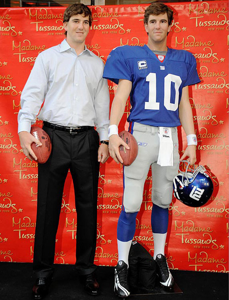 Eli Manning :: James Keivom/NY Daily News Archive via Getty Images
