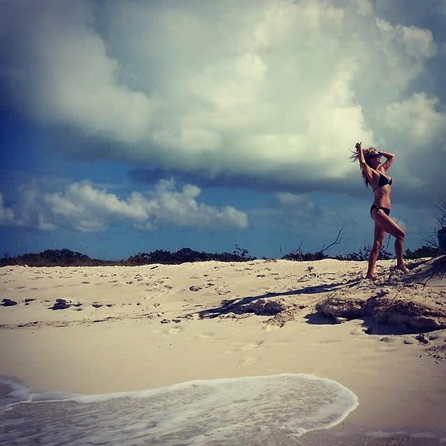 @christiebrinkley: Sand Dollar Beach Bum