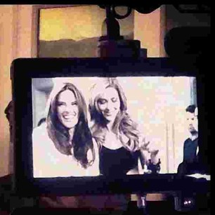 @anabbofficial #Regram from my #bff @alessandraambrosio #fun #tvshow #suprise #legal
