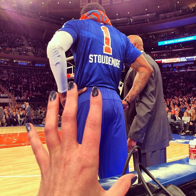 @annev_official: Good view! Go Knicks