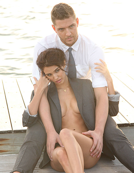 Ashley Sky and Chandler Parsons :: Courtesy of Buffalo David Bitton