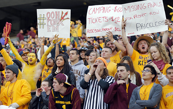 Arizona State vs. Stanford :: Bruce Yeung Photography