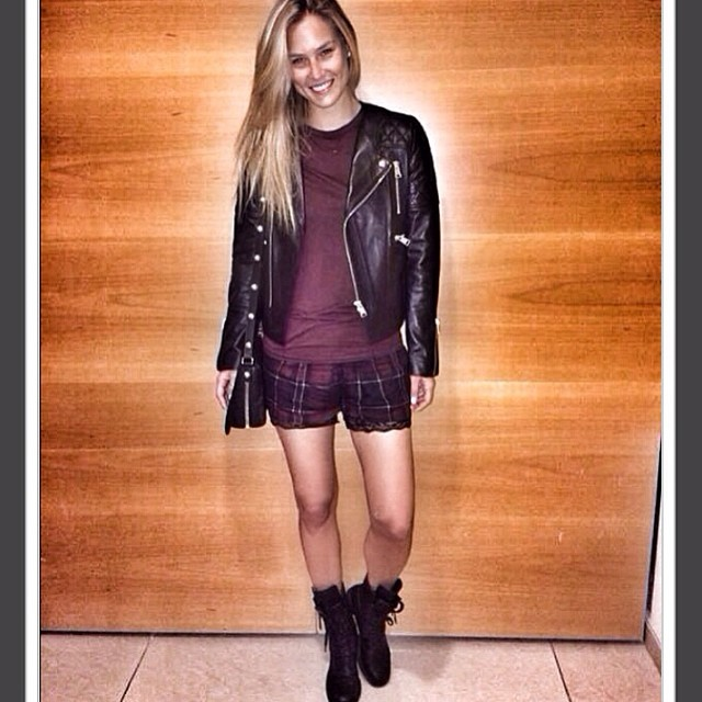 @barrefaeli: #chanel boots & @aninebing leather jacket are my fall obsessions!