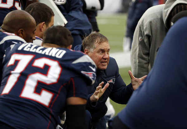 Bill Belichick :: AP Photo/Elise Amendola