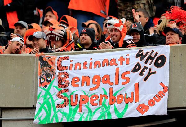 Bengals fans :: AP