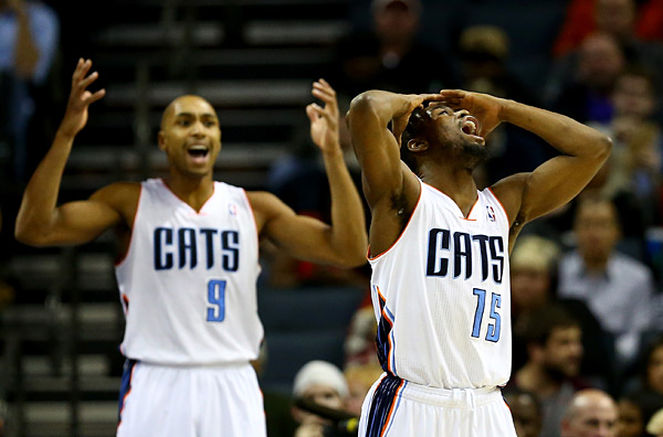 Kemba Walker and Gerald Henderson  :: Getty Images