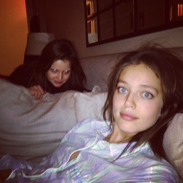 @emilydidonato1: Watching the VS show with @ali_michael