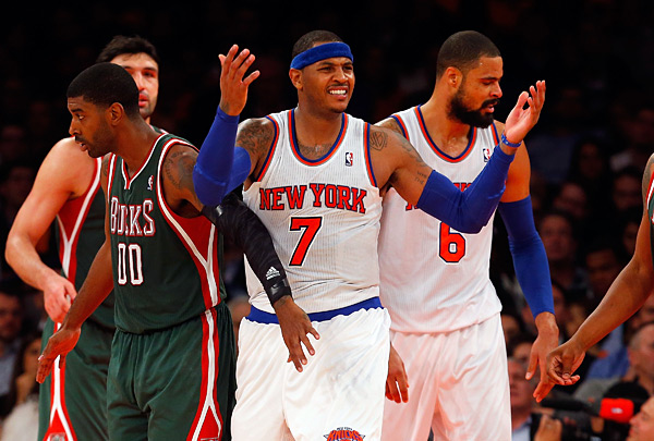 Carmelo Anthony :: Getty Images