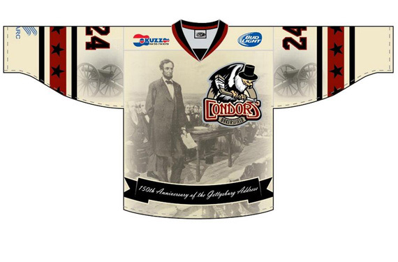 Bakersfield Condors (150th anniversary of Gettysburg Address)