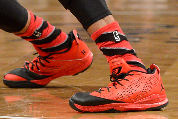 D.J. Augustin, Bulls: Jordan Brand. (Christopher Pasatieri/Getty Images Sport)