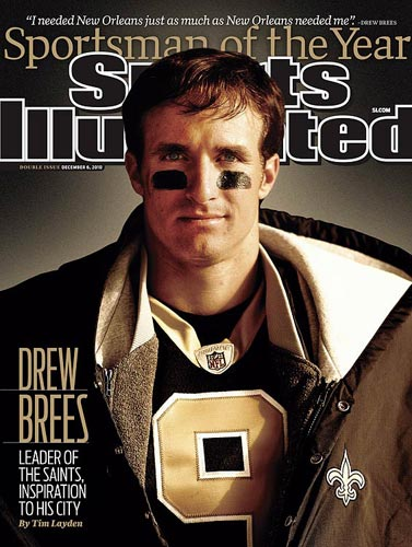 Drew Brees, 2010 (Walter Iooss Jr./SI)