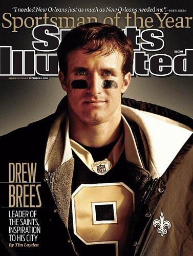 Drew Brees, 2010 (Walter Iooss Jr./SI)
