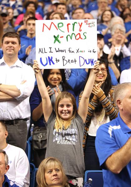 Duke at Kentucky Women's Basketball :: Jeff Moreland/Icon SMI