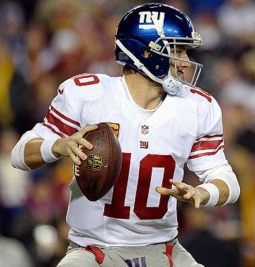 San Diego Chargers vs.  New York Giants :: AP Photo/Denis Poroy