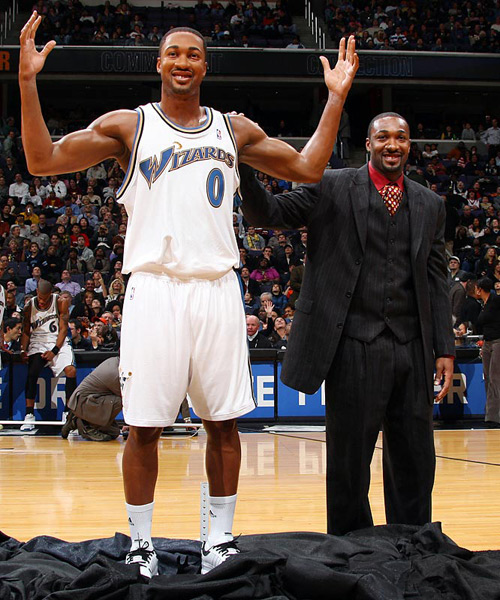 Gilbert Arenas :: Ned Dishman/NBAE via Getty Images