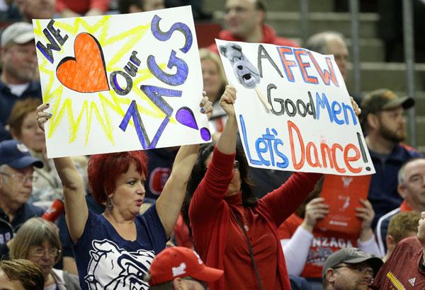 Gonzaga Bulldogs :: AP