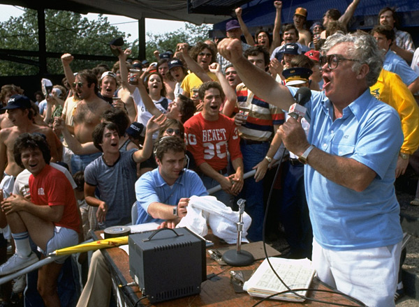 Harry Caray :: Photo by Hal Stoelzle