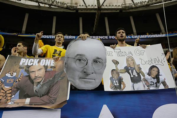 Missouri vs. Auburn :: AP Photo/Dave Martin