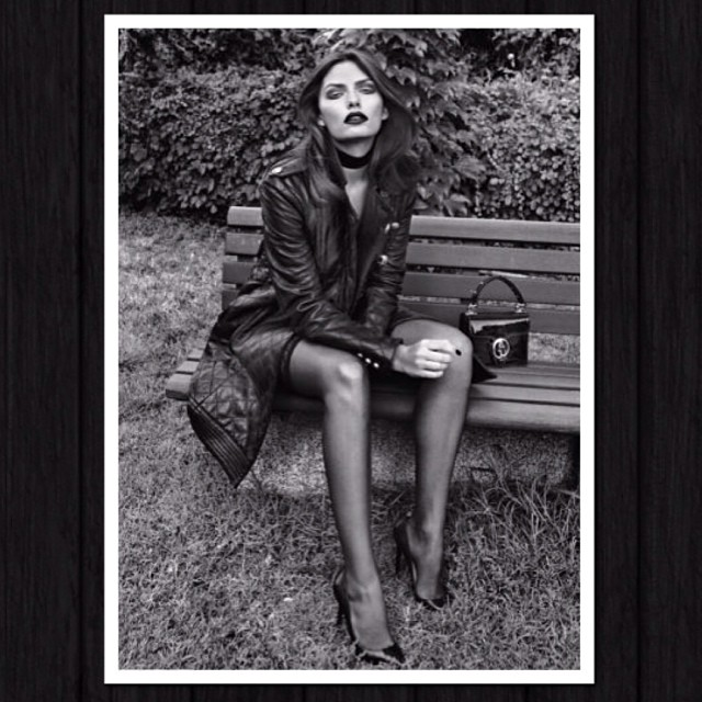 @luvalyssamiller: Throwback Thursday with Harpers Bazaar by @koraybirand #TBT #throwbackthursday
