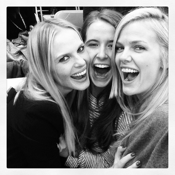 @brooklynddecker: It's ladies night and I feel alright. @annev_official @madkool13