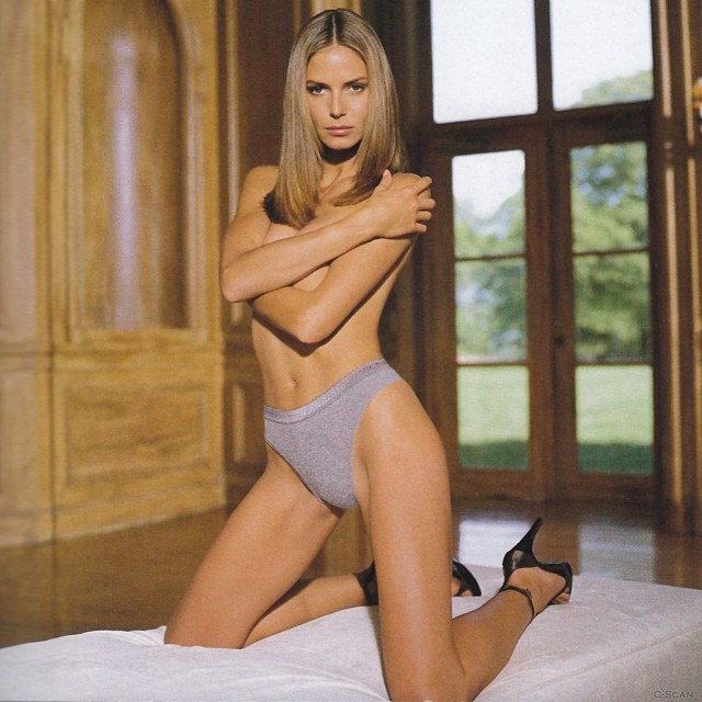 @heidiklum: Photo blast from the past: @VictoriasSecret Times...miss my VS family!