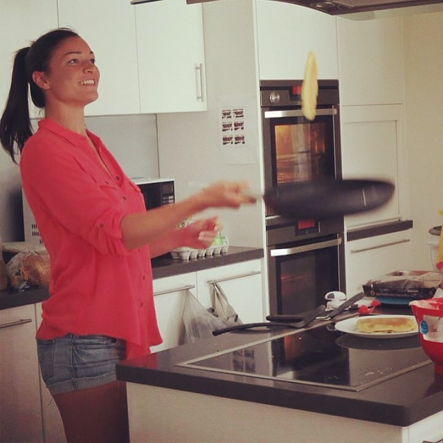 @mjenneke93: It's a pancake flipping kind of morning  #morning #smile